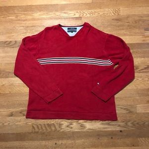 Modern tommy hilfinger sweater xxl red and blue